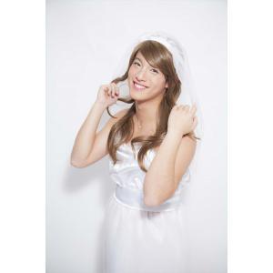 男性用女装コスチューム プリュムオム ウェディング コスプレ コスチューム 仮装 余興 パーティーグッズ 女装|arune