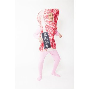 お肉着ぐるみ 熟成肉野郎 コスチューム パーティーグッズ 仮装グッズ イベント 宴会 着ぐるみ arune