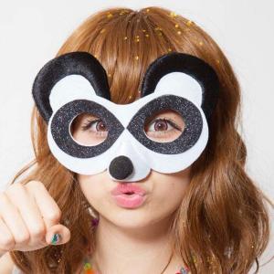 アニマルグラス パンダ アニマルグッズ 仮装 メガネ 仮面 マスク ハロウィン パーティー|arune