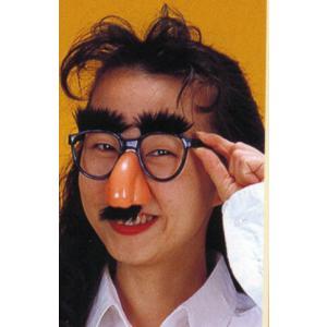ハナヒゲセット(変装メガネ) 仮装、変装、めがね|arune