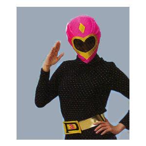 いつでもレンジャー(ピンク)ベルト付き 仮装、衣装、コスチューム、軍団、戦隊、レンジャー、正義の味方|arune