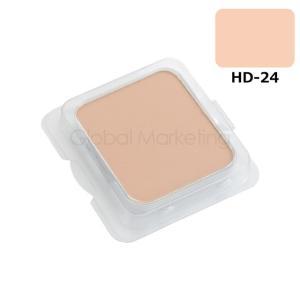 シャレナ HD(ハイデフ)化粧品 パウダリィファンデーション レフィール 13g HD-24 MYS13-027114|arune