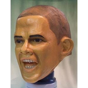 Mr.オバマ アメリカ・大統領・オバマ 変装・仮装・かぶりもの・かぶり物・マスク・着ぐるみ・お笑い|arune