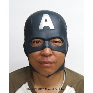 なりきりマスク キャプテン・アメリカ なりきりアメコミヒーロー|arune