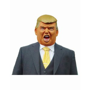 なりきりマスク Mr.トランプ ドナルド・トランプ アメリカ大統領マスク ものまね なりきり 有名人 変装マスク かぶりもの|arune|04