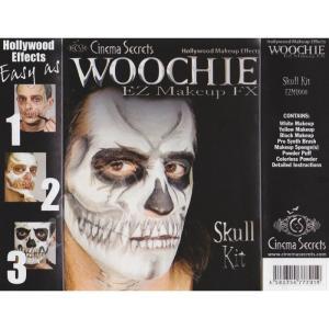 米国シネマシークレット社製 骸骨の特殊メイクキット EZMU008|WOOCHIE Skull Kit|arune