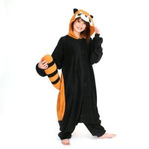 レッサーパンダ アニマル(動物)着ぐるみ どうぶつ キャラクター パジャマ 大人用 女性 仮装 変装 コスプレ|arune