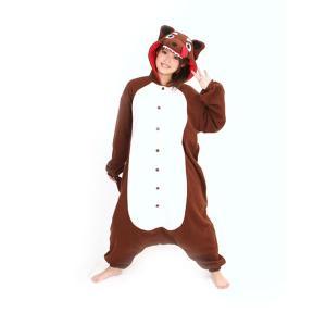 オオカミ アニマル(動物)着ぐるみ どうぶつ キャラクター パジャマ 大人用 女性 仮装 変装 コスプレ|arune