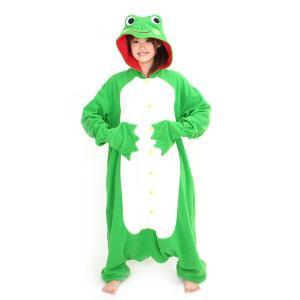 カエル アニマル(動物)着ぐるみ どうぶつ キャラクター パジャマ 大人用 女性 仮装 変装 コスプレ|arune