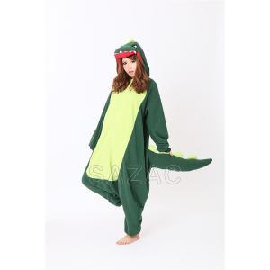 カイジュウ アニマル(動物)着ぐるみ どうぶつ キャラクター パジャマ 大人用 女性 仮装 変装 コスプレ|arune