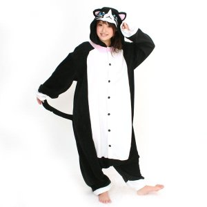 ネコ アニマル(動物)着ぐるみ どうぶつ キャラクター パジャマ 大人用 女性 仮装 変装 コスプレ|arune