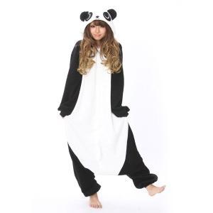 パンダ アニマル(動物)着ぐるみ どうぶつ キャラクター パジャマ 大人用 女性 仮装 変装 コスプレ|arune