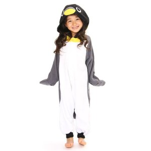 ペンギン アニマル(動物)着ぐるみ 子供用 どうぶつ キャラクター パジャマ キッズ用 ユニセックス 仮装 変装 コスプレ|arune