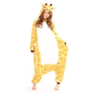キリン アニマル(動物)着ぐるみ どうぶつ キャラクター パジャマ 大人用 女性 仮装 変装 コスプレ|arune