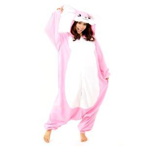 ウサギ アニマル(動物)着ぐるみ どうぶつ キャラクター パジャマ 大人用 女性 仮装 変装 コスプレ|arune