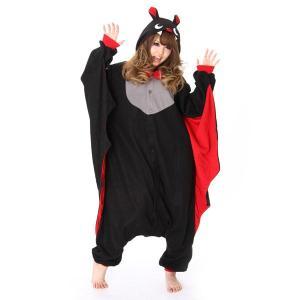 コウモリ アニマル(動物)着ぐるみ どうぶつ キャラクター パジャマ 大人用 女性 仮装 変装 コスプレ|arune