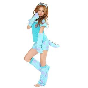 なりきりNEWサリー 5点セット サリー キャラクタールームウェア 仮装衣装 コスチューム コスプレ|arune