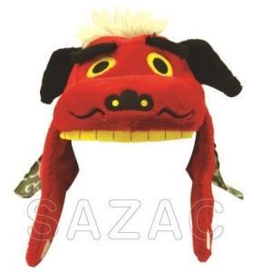 サザック 着ぐるみキャップ シシマイ 獅子舞 着ぐるみCAP サザック シシマイ 獅子舞 正月 お祭り|arune