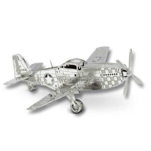 P-51 マスタング メタリックナノパズル|arune