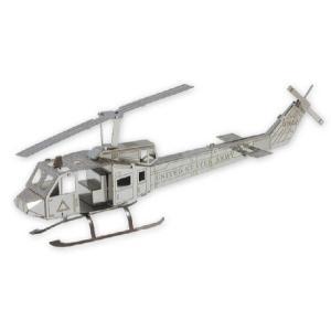ヒューイ ヘリコプター メタリックナノパズル|arune