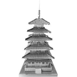 五重塔 メタリックナノパズル|arune