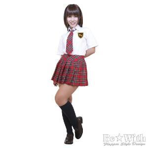 コスプレ衣装・コスチューム AKIBA時代K組 赤 AKB風・アキバ系アイドル・制服 AKIBAアイドルシリーズ|arune