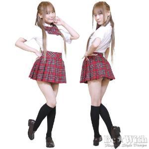 コスプレ衣装・コスチューム AKIBA時代L組 赤 AKB風・アキバ系アイドル・K-POP AKIBAアイドルシリーズ|arune