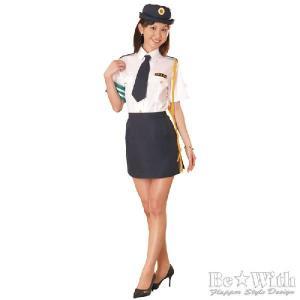 コスプレ コスチューム 婦人警官3(Lサイズ) 婦警 女装男子|arune