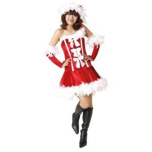 即納 クリスマス コスプレ サンタ レディース フェザースリーリボンドレス クリスマス コスプレ レディース おもしろ 安い トナカイ ツリー サンタクロース|arune