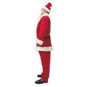 メンズサンタクロース DX 超ビッグ! 家族クリスマス メンズ 男性用 大きいサイズ クリスマス コスチューム コスプレ サンタ サンタクロース 衣装 arune 02