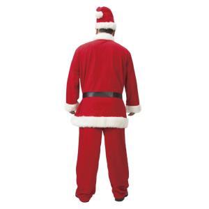 メンズサンタクロース DX 超ビッグ! 家族クリスマス メンズ 男性用 大きいサイズ クリスマス コスチューム コスプレ サンタ サンタクロース 衣装 arune 03