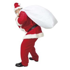 大きなサンタさんの袋 家族クリスマス 盛り上げクリスマス 業務用にも最適 クリスマス コスチューム コスプレ サンタ サンタクロース 衣装|arune
