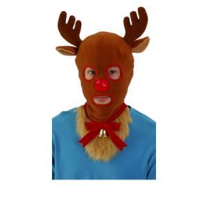 クリスマス おもしろ コスプレ 仮装 変装グッズ トナカイマスクマン クリスマス おもしろ コスプレ 仮装 変装グッズ 安い 笑える 爆笑 衣装|arune