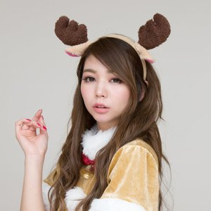 X'mas MOKO トナカイカチューシャ サンタクロース 衣装 コスチューム クリスマス コスプレ 販促 業務用|arune