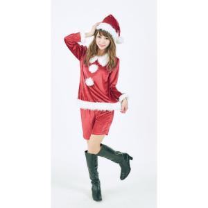 ストロベリーサンタレディース 女性用 サンタクロース Xmas クリスマス 衣装 コスチューム コスプレ|arune
