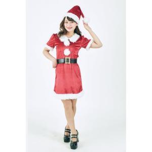 アップルサンタレディース 女性用 サンタクロース Xmas クリスマス 衣装 コスチューム コスプレ|arune