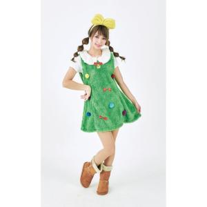 マシュマロツリーレディース 女性用 ツリー Xmas クリスマス 衣装 コスチューム コスプレ|arune