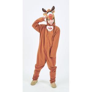 あわてんぼうトナカイくん ユニセックス 着ぐるみ Xmas クリスマス 衣装  コスプレコスチューム|arune