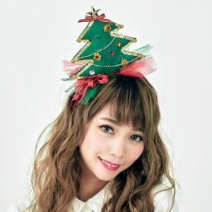 ツリーカチューシャ サンタクロース Xmas クリスマス プチプラ|arune