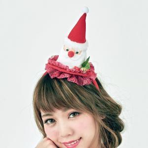 ぽかぽかサンタカチューシャ サンタクロース Xmas クリスマス プチプラ|arune