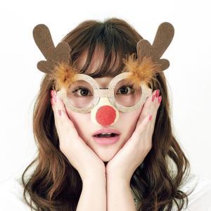X'masグラストナカイ サンタクロース Xmas クリスマス プチプラ|arune