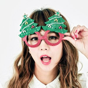 X'masグラスツリー サンタクロース Xmas クリスマス プチプラ|arune