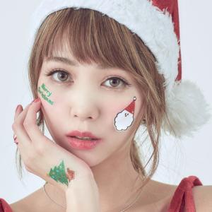 X'masグリッターシールパーティーサンタ サンタクロース Xmas クリスマス プチプラ|arune