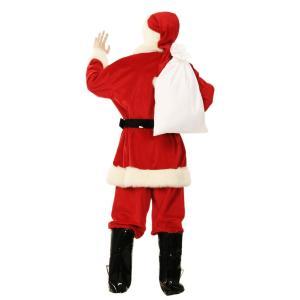 即納 サンタ コスプレ クリスマス 小物 男女兼用 サンタさんの袋 サンタクロース コスプレ クリスマス 小物 男女兼用 ヒゲ 髭 袋 プレゼント袋|arune