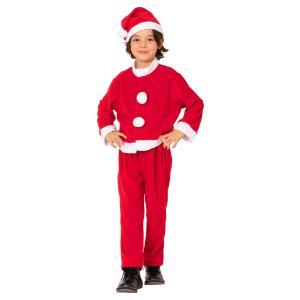 キッズサンタスーツ 140 家族クリスマス キッズ クリスマス コスチューム コスプレ サンタ サンタクロース 衣装|arune