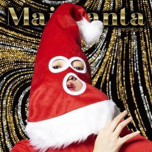 マジサンタ 目出しサンタ帽子 サンタクロース Xmas クリスマス 衣装 コスチューム|arune