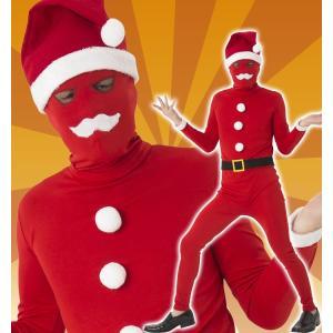 イケイケサンタタイツ メンズ 男性用 おもしろ 盛り上げ 衣装 サンタクロース Xmas クリスマス|arune