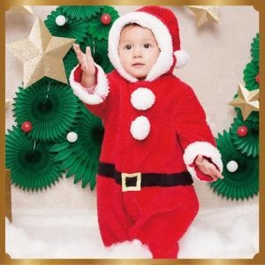 マシュマロサンタ Baby 子供用 キッズ ベビー サンタクロース Xmas クリスマス 衣装 コスチューム|arune