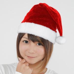 サンタ帽子 レッド クリスマス サンタクロース 衣装 コスチューム Xmas コスプレ プチプラ|arune
