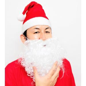 サンタさんのひげ カール クリスマス コスプレ サンタクロース コスチューム プチプラ 衣装 Xmas|arune